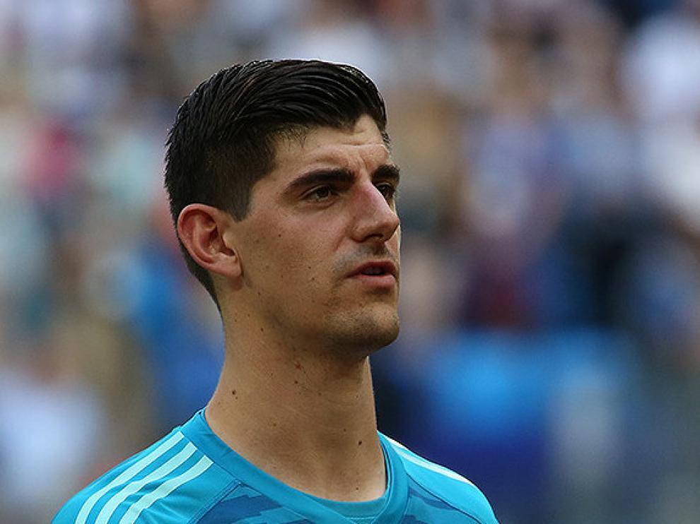 Courtois, nuevo fichaje en la portería del Real Madrid.