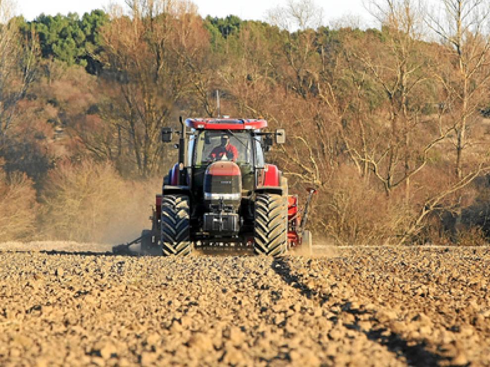 Los tractores son la maquinaria agrícola más representativa.