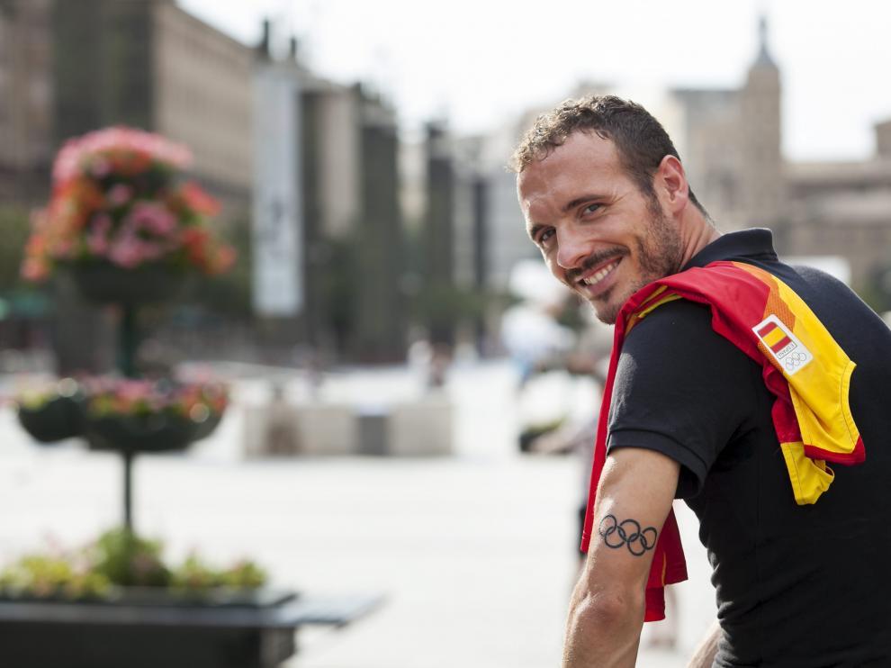 Toni Abadía volverá a representar este sábado a la selección española en el Europeo de Berlín.