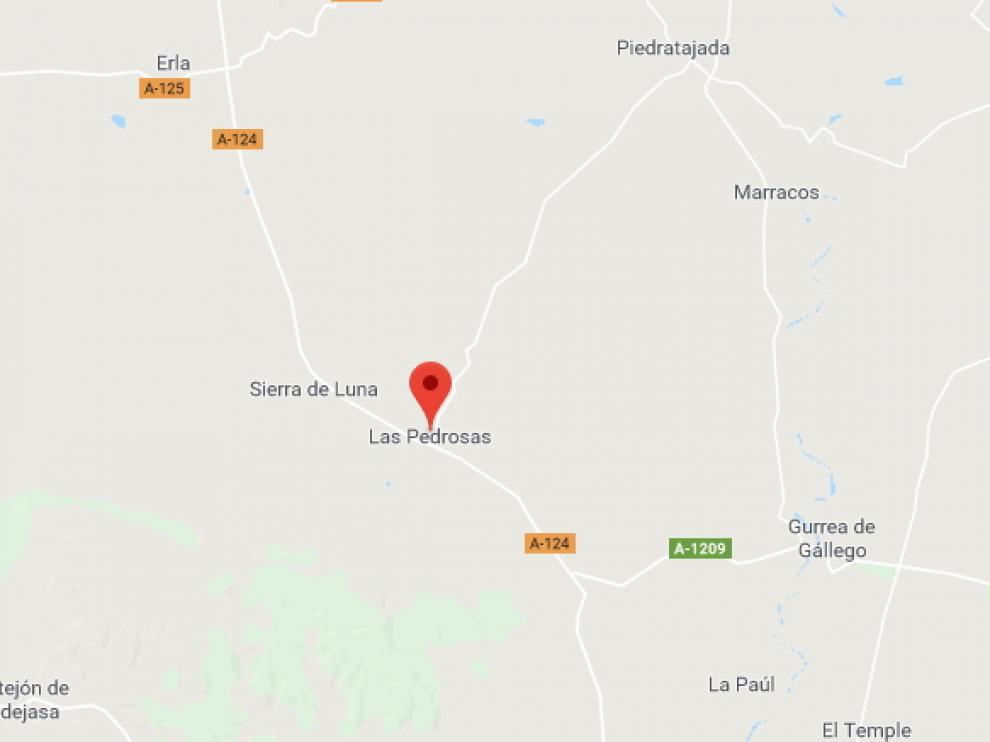 El incendio se ha registrado en el término municipal de Las Pedrosas, cerca de Sierra de Luna.