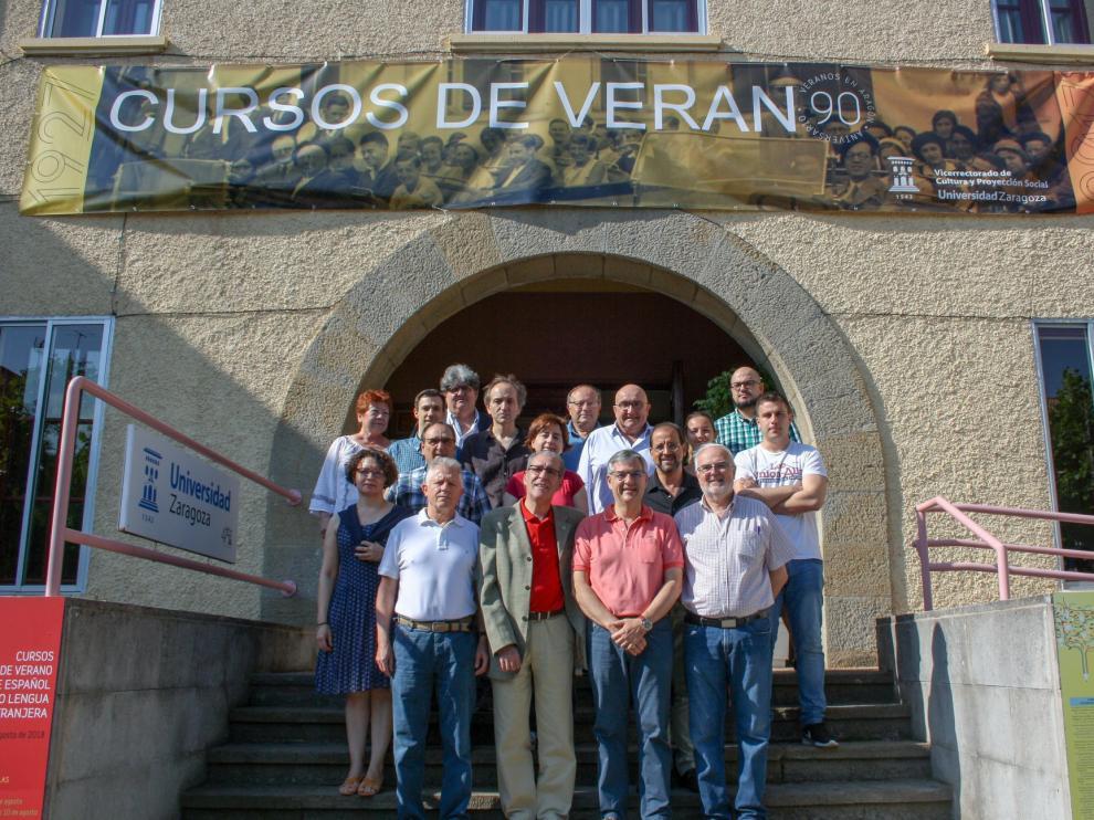 Los Cursos de Verano de la Universidad de Zaragoza comenzaron el pasado mes de julio.