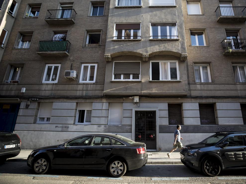 Edificio de viviendas en Zaragoza.
