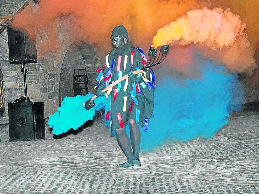 Un momento de la representación de la Morisma en la edición de 2016.