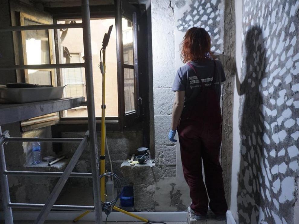 Los técnicos de la Fundación ya están inmersos en las tareas de la Casa de la Comunidad.