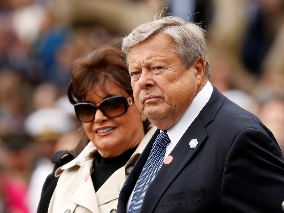 Amalija y Viktor Knavs, padres de Melania Trump.