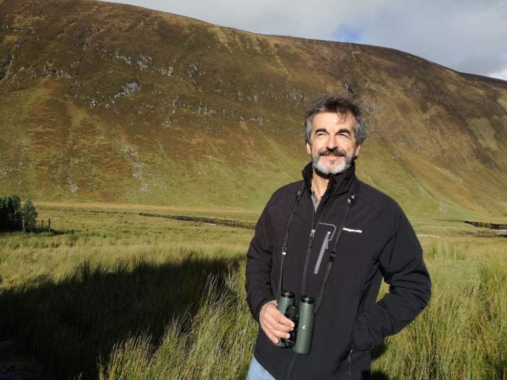 Guillermo Palomero, presidente de la Fundación Oso Pardo