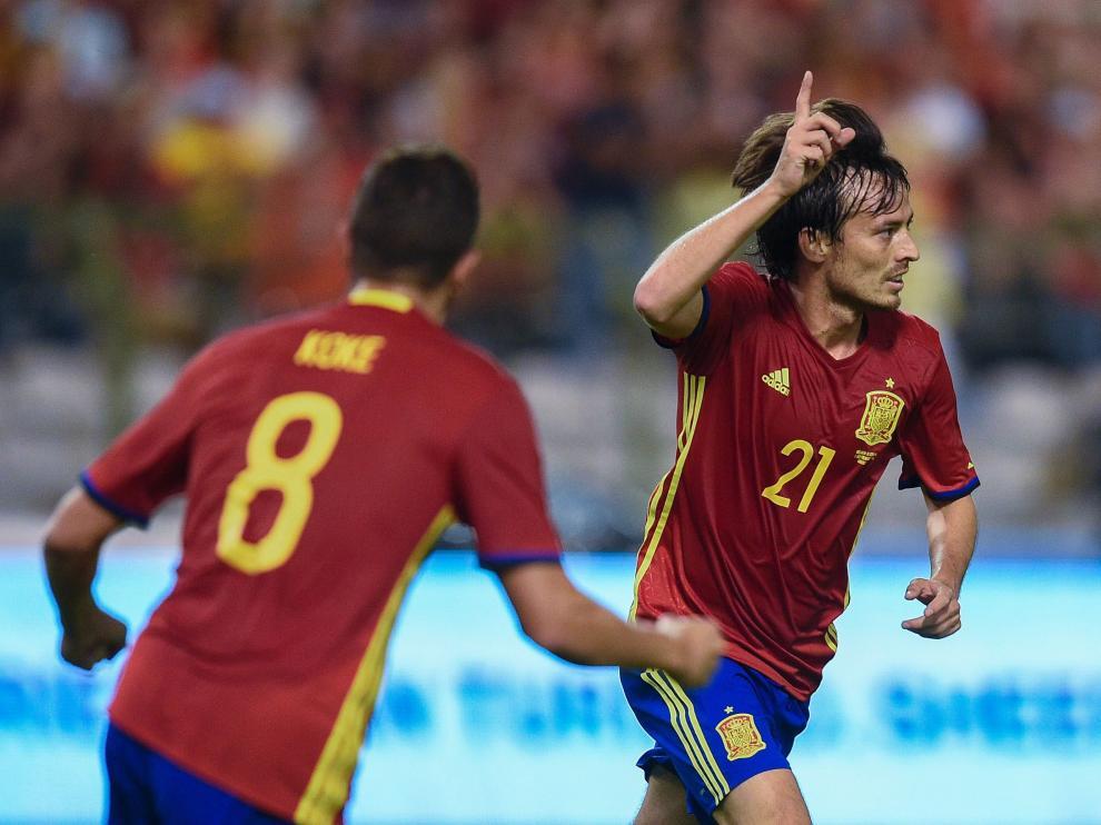 David Silva anuncia su adiós a la selección española