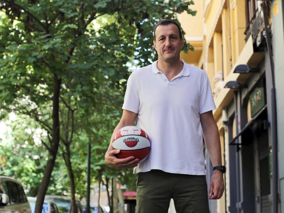 Pep Cargol, director deportivo del Tecnyconta Zaragoza.