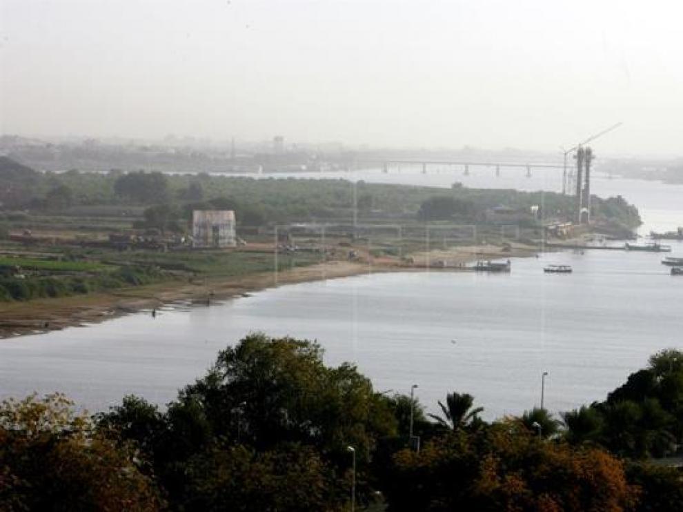 El Nilo, a su paso por Jartum