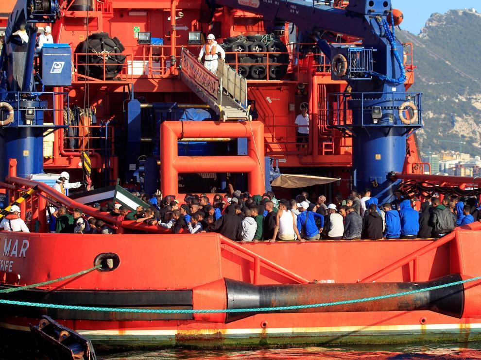 Un total de 240 inmigrantes han llegado a las costas gaditanas.