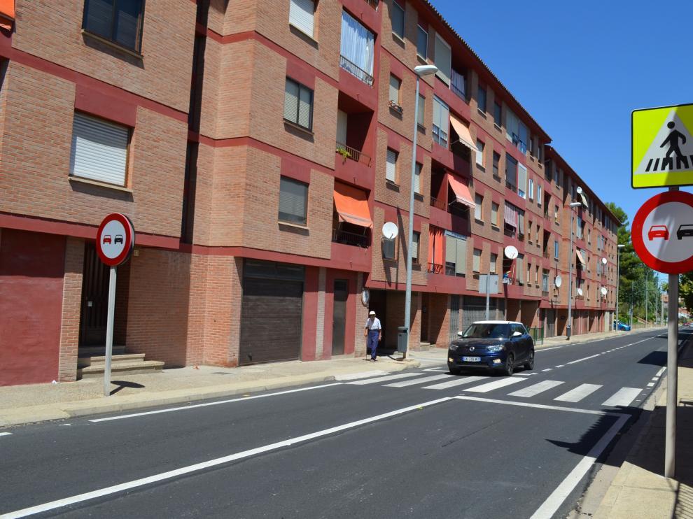 Angelita C. A. falleció atropellada a la altura del número 59 de la avenida de Navarra.