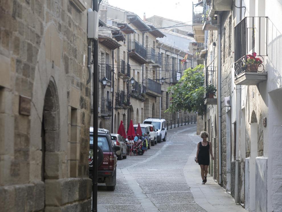 Calle de Luesia