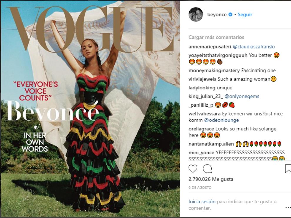 Beyoncé logra que Vogue contrate al primer fotógrafo de raza negra que hará la portada.