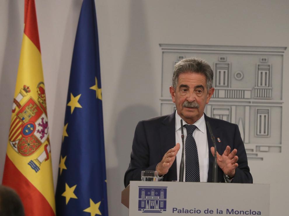 Miguel Ángel Revilla, presidente de Cantabria, en una imagen de archivo.
