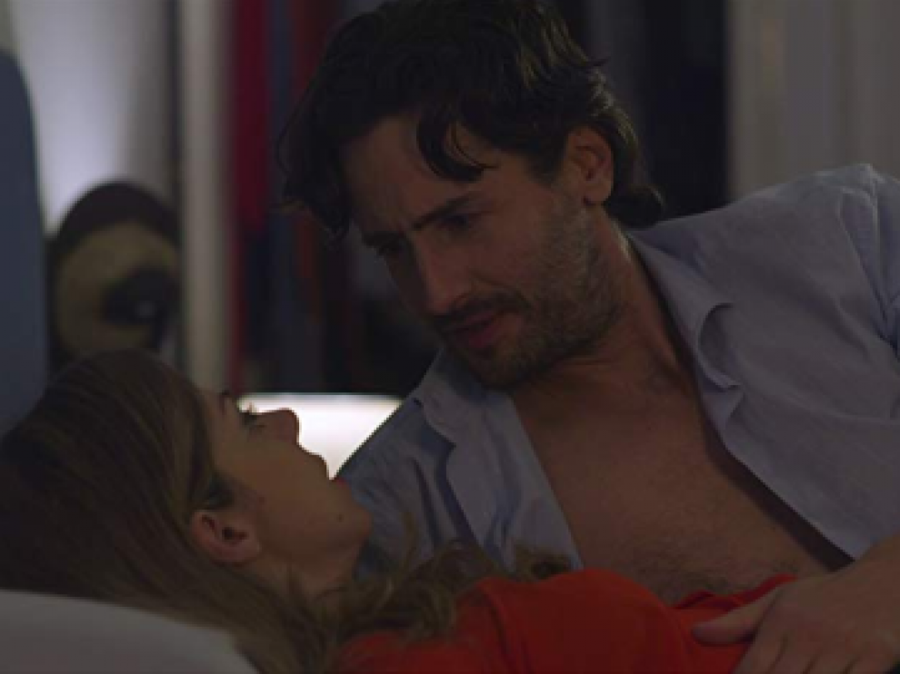 Cartel del cortometraje 'Una noche con Juan Diego Botto'.
