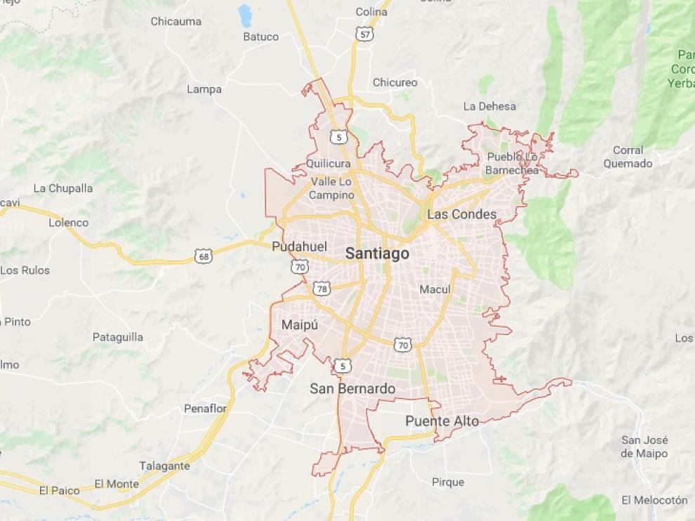Santiago de Chile era el origen o el destino de cuatro de los vuelos que sufrieron la amenaza de bomba.