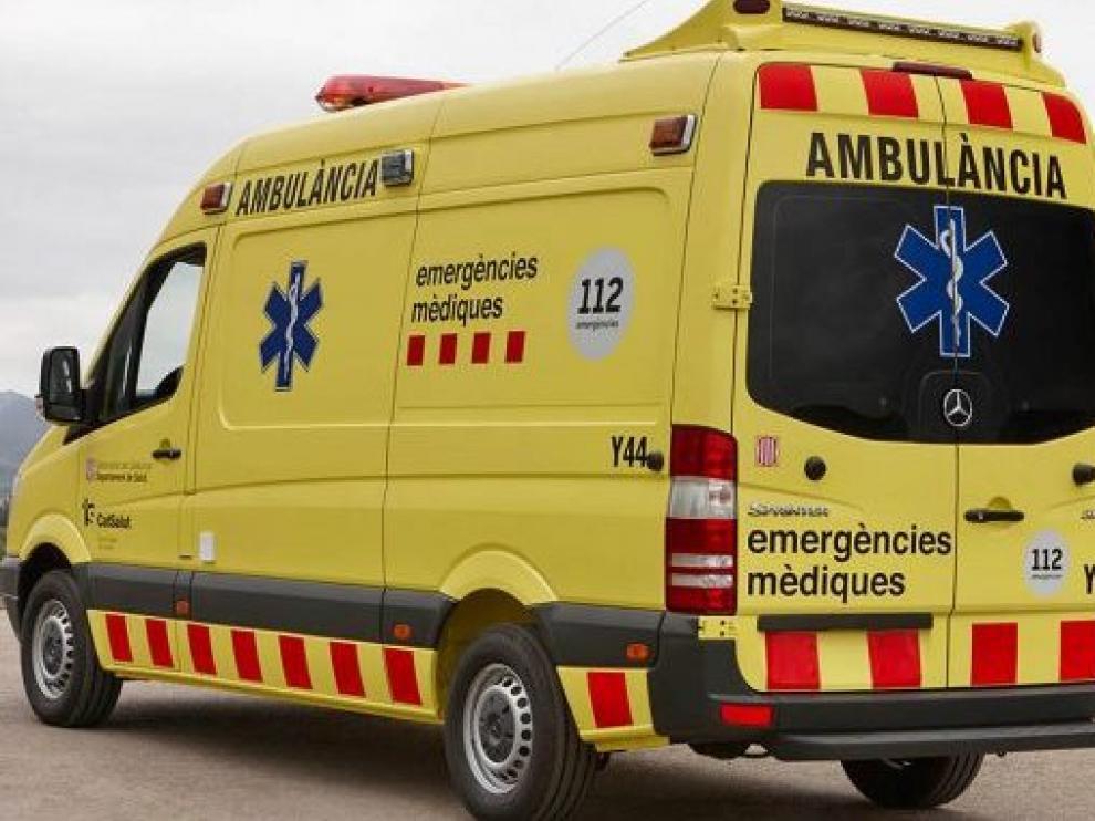 Ambulancia del servicio de emergencias médicas catalán