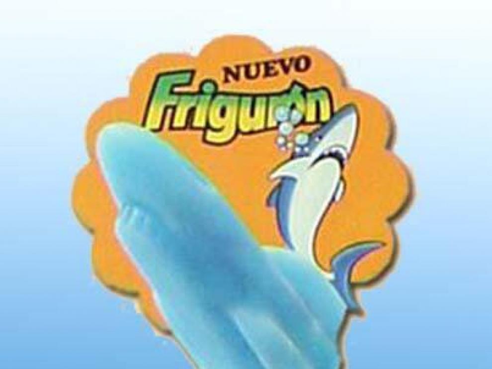 El frigurón, helado con forma de tiburón