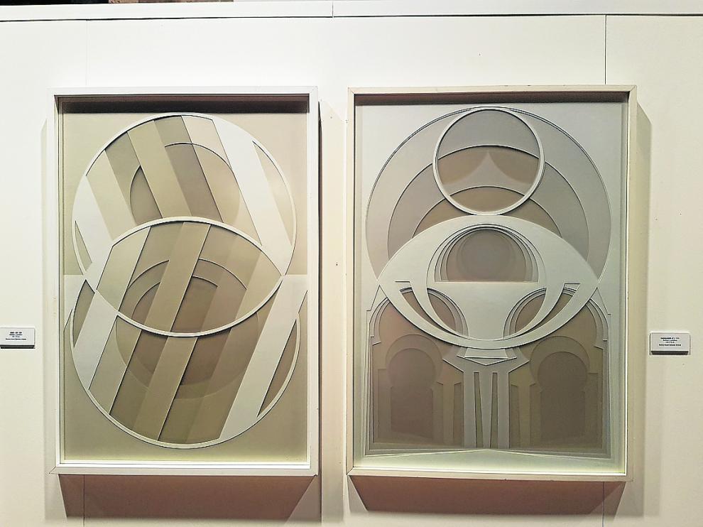 La pulsión geométrica, tan elaborada, de Salvador Victoria se ve en Puertomingalvo.