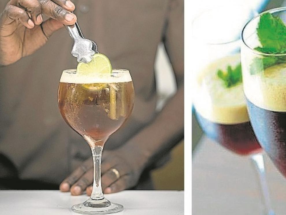 Gin Tonic, mojito y un aperitivo hechos con café.