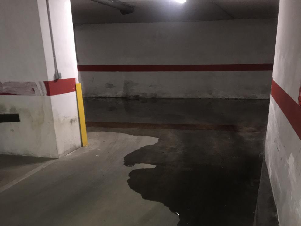 Inundaciones en garajes de la calle Espronceda