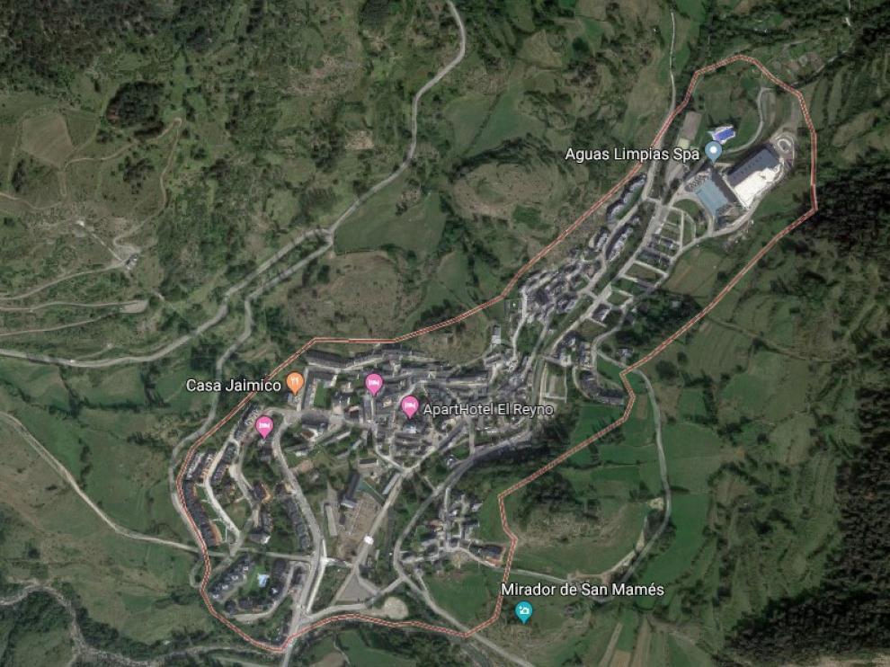 El accidente ha tenido lugar en el término municipal oscense de Sallent de Gállego (Huesca).