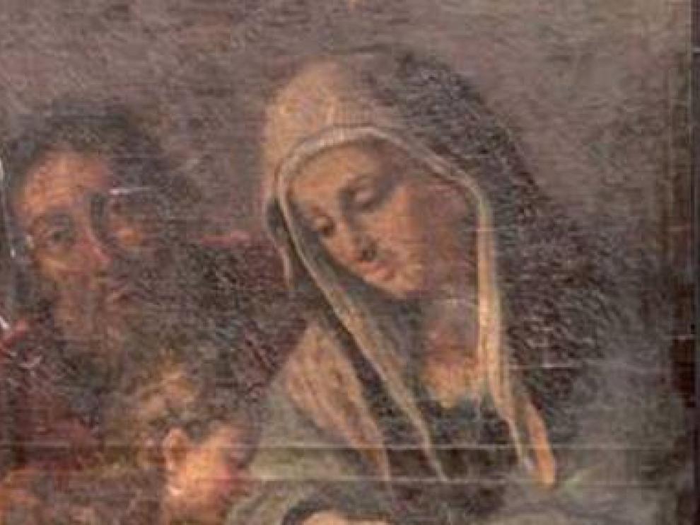 'La educación de la virgen', de Genaro Sarnelli.