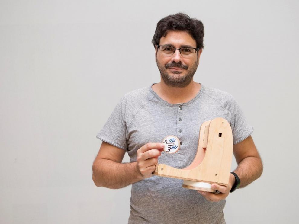 Enrique Torres, maker creador de Teacch-Fi