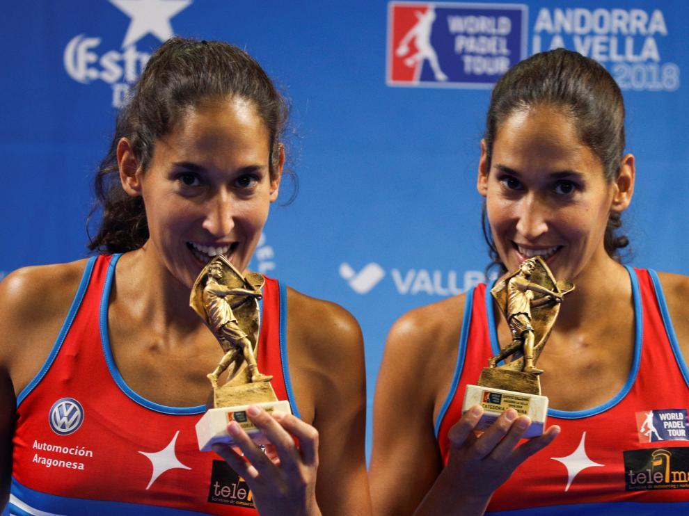 Mapi y Majo Sánchez Alayeto, flamantes campeonas