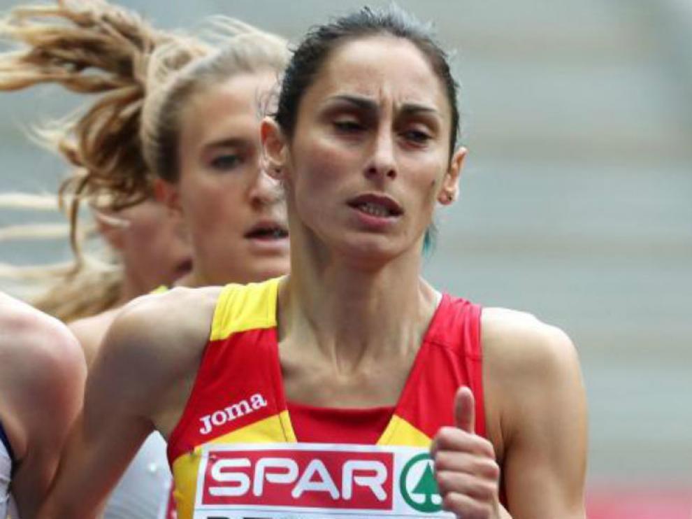 Solange Pereira, una de los atletas españoles que ha logrado una medalla.
