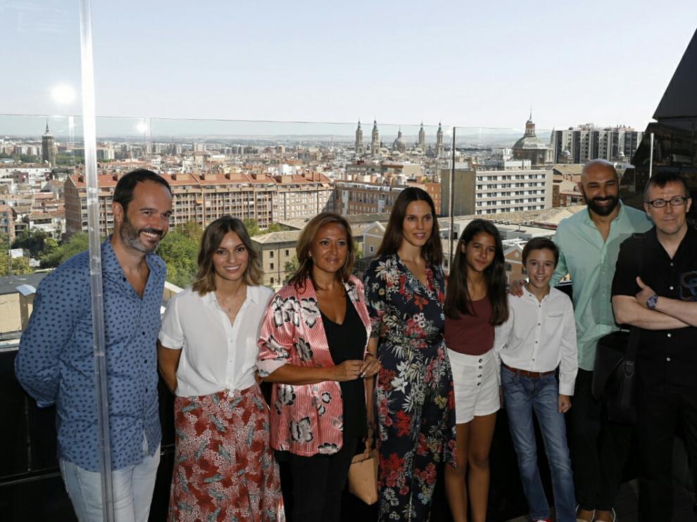 Presentación de la película de 'Los futbolísimos' hoy, en Zaragoza