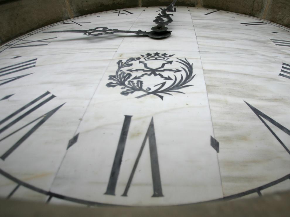 Reloj de la Basílica del Pilar de Zaragoza