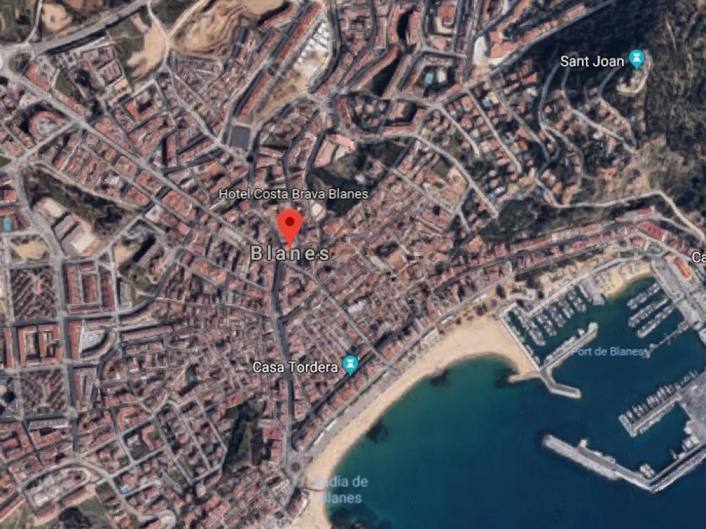 """Los sucesos han tenido lugar en el restaurante """"Sol d'Or"""", en Blanes (Girona)."""
