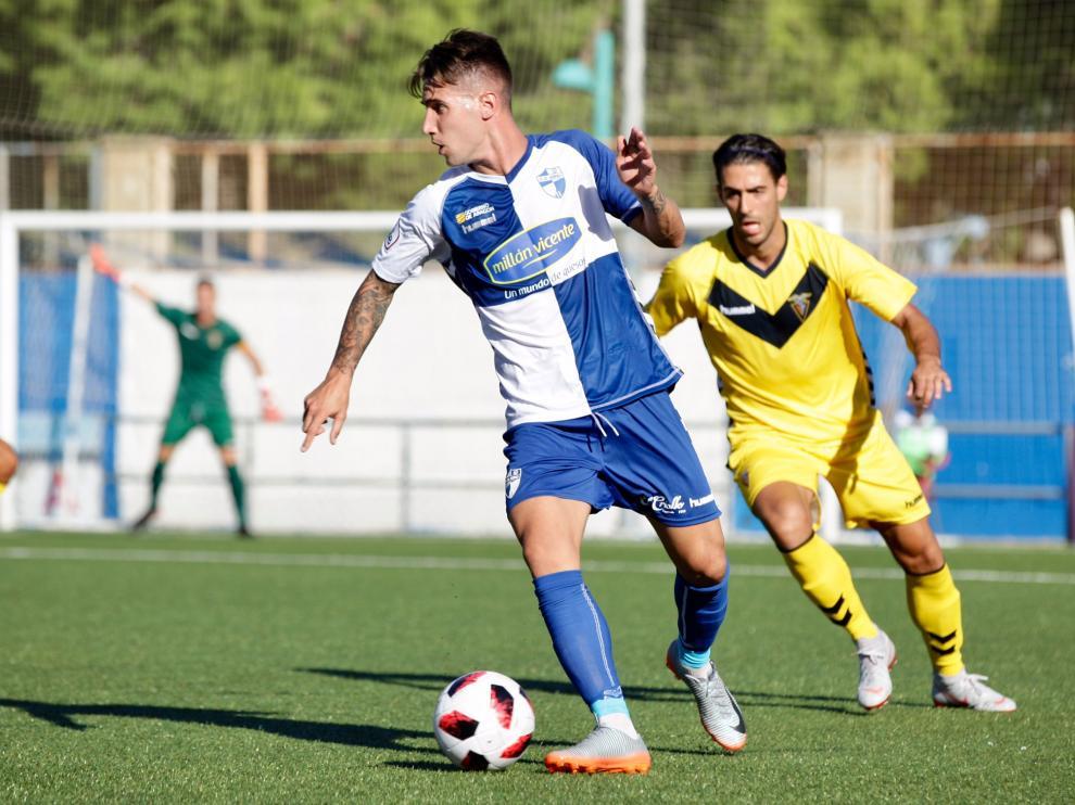Ebro vs. Badalona. Rubén Losada