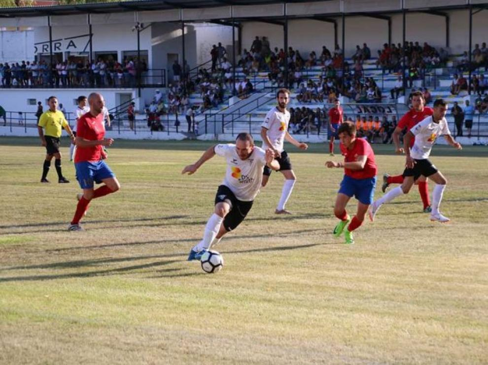 Un partido de pretemporada del Andorra.