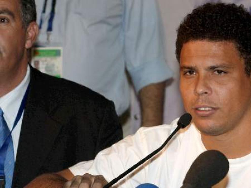 El exfutbolista Ronaldo Nazario