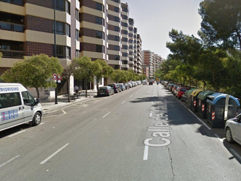 El atropello se produjo en la calle Manuel Lasala 44.