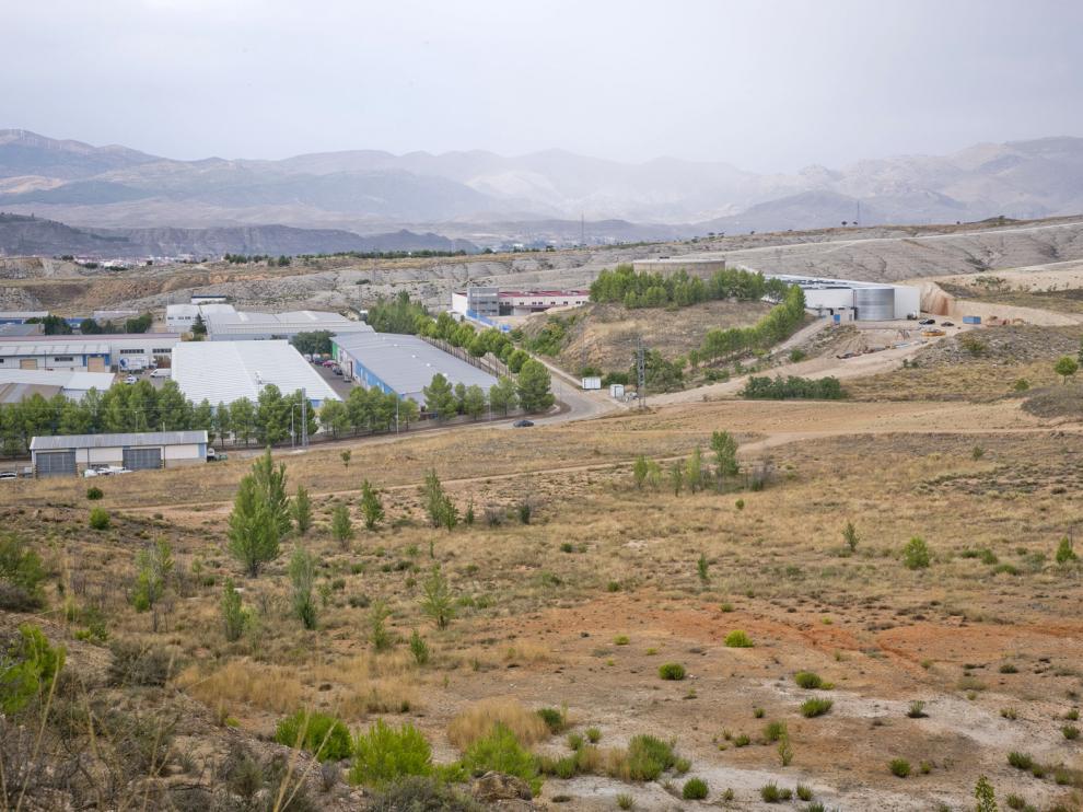 Esta fue la parcela donde se pensó instalar la planta de residuos