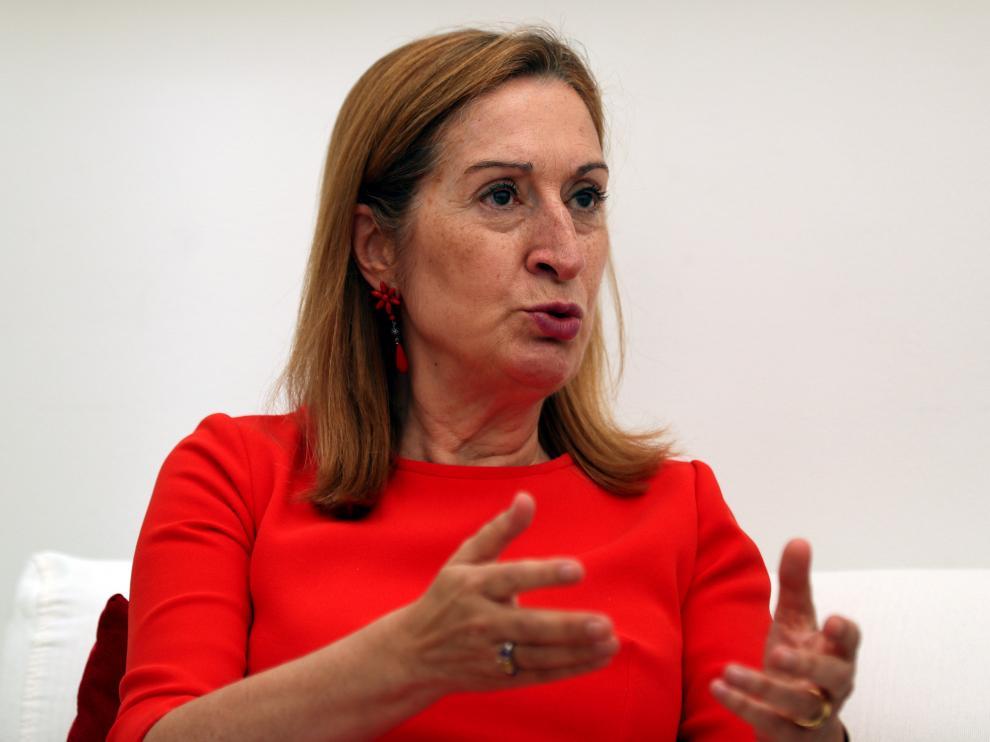 Ana Pastor, presidenta del Congreso.