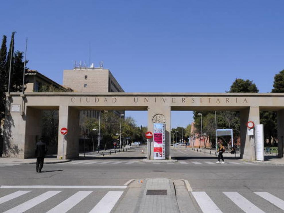 Campus de la plaza San Francisco de la Universidad de Zaragoza