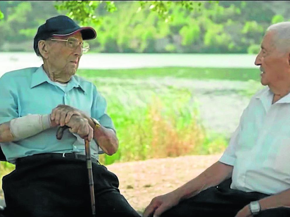 Germán y José, ochenta años después.