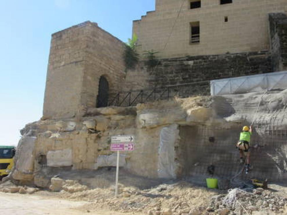 Castillo del Bailío, en Caspe.
