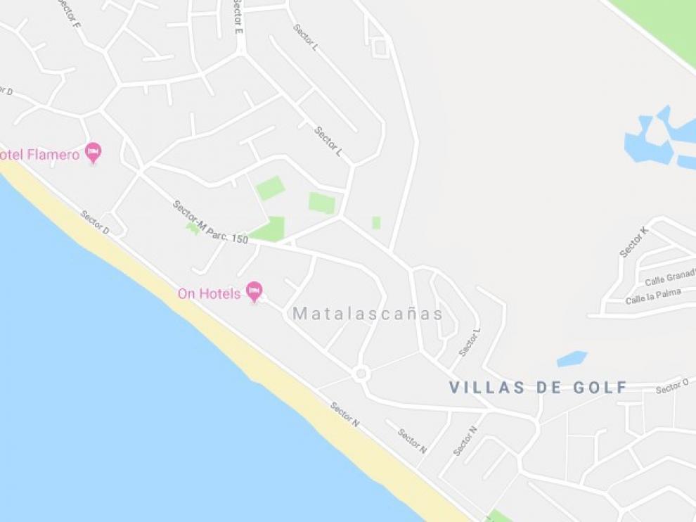 El establecimiento donde ocurrieron los hechos está situado en la zona de Caño Guerrero del núcleo costero almonteño.