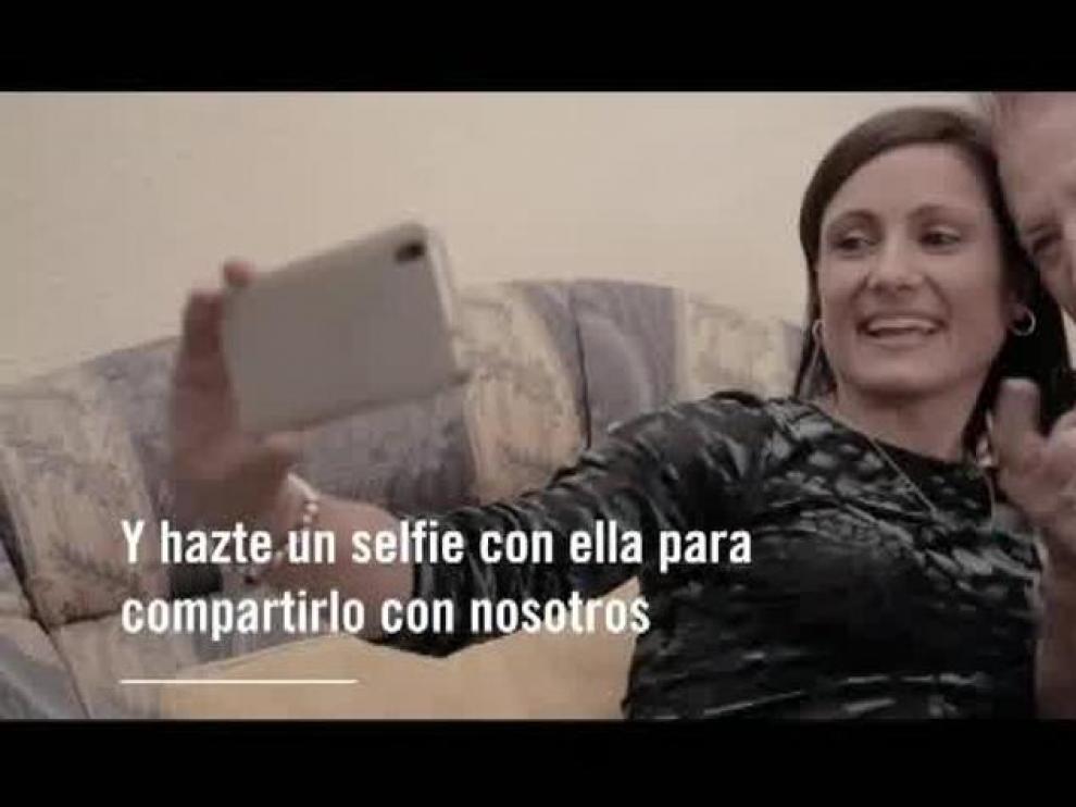 """""""Selfies contra la soledad"""", la iniciativa que hace visible a las personas mayores"""