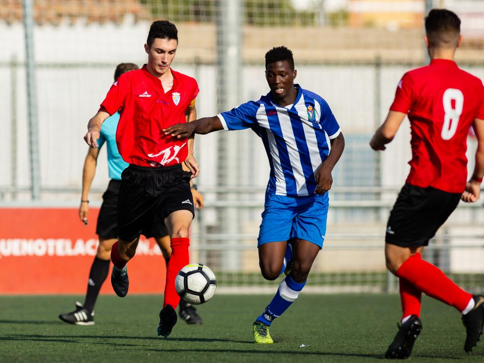 Fútbol. LNJ- Escalerillas vs. Teruel