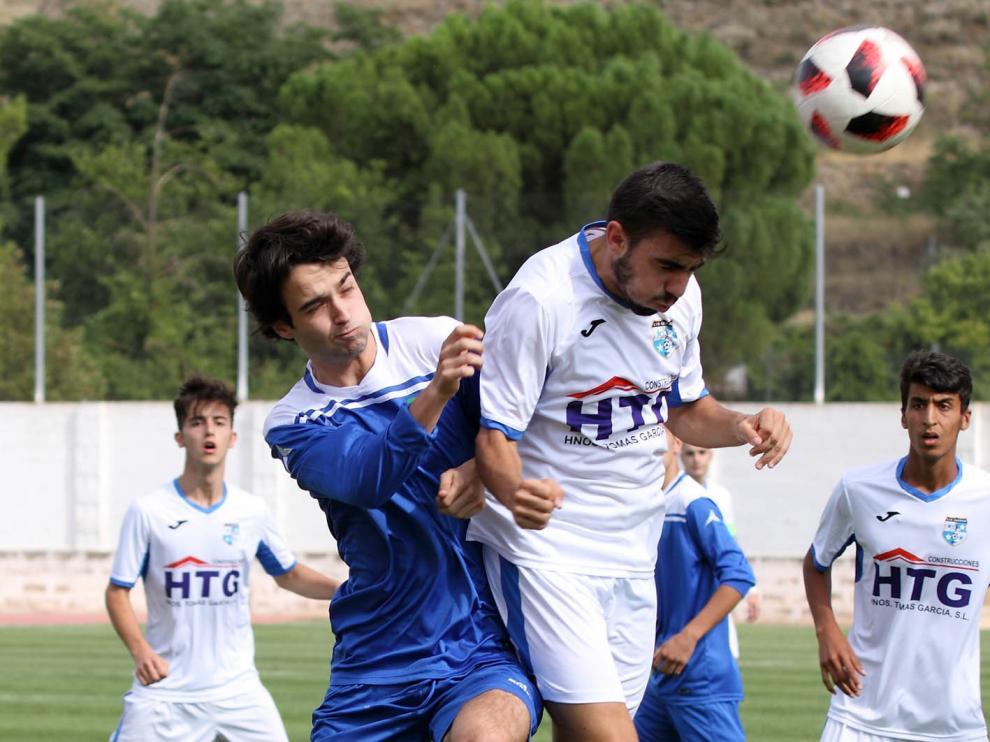 Fútbol. LNJ- Calatayud vs. Marianistas