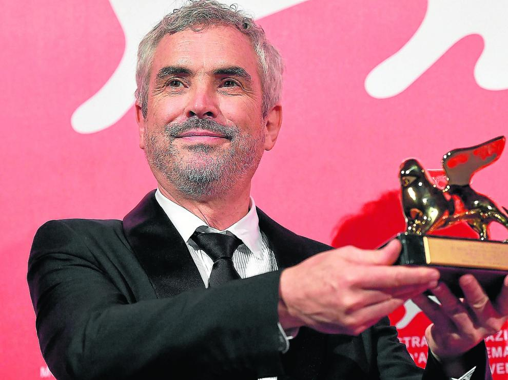 El cineasta mexicano Alfonso Cuarón fue el gran triunfador de la 75 edición del Festival de Venecia.