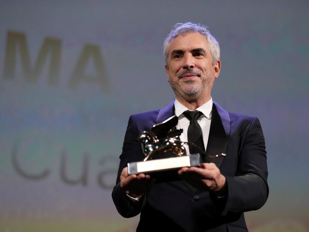 El director mexicano Alfonso Cuarón gana el León de Oro.