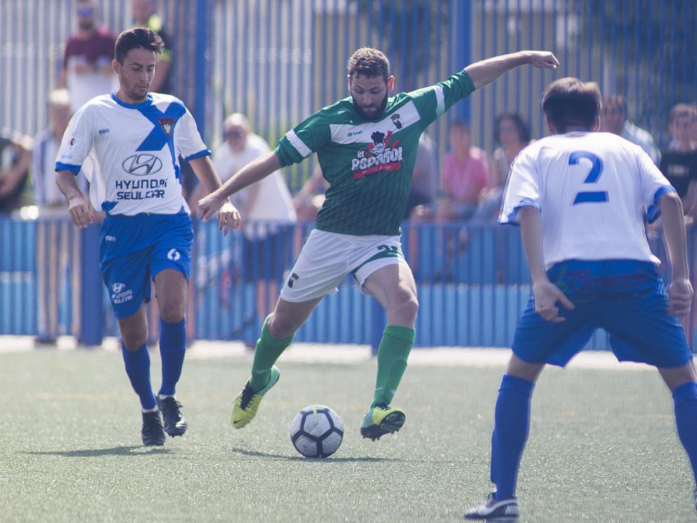 Partido de la segunda jornada de liga- San Fernando vs. Bujaraloz