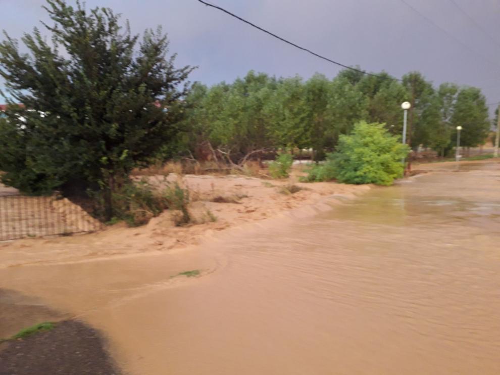 Tormenta en Torrehermosa